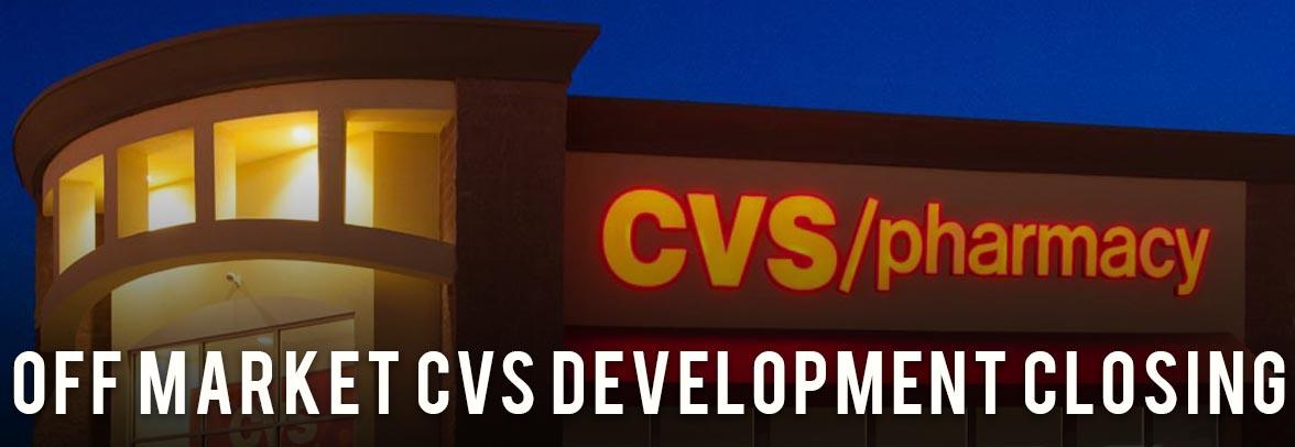 CVS For Sale Development Closing