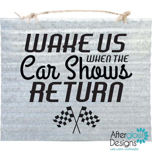 Wake Us When The Car Shows Return