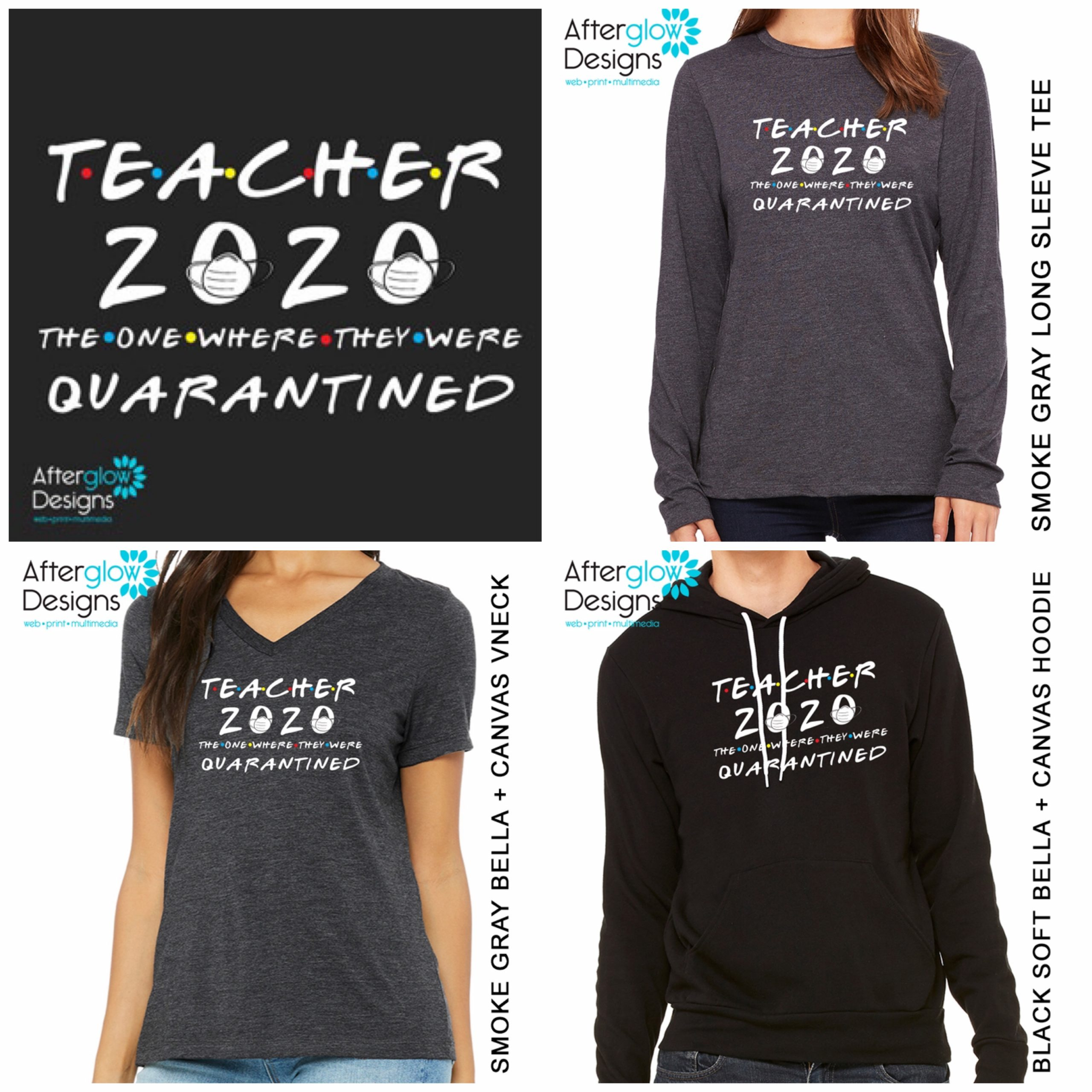 """Teacher 2020 - The One Where They Were Quarantined"" Tops"