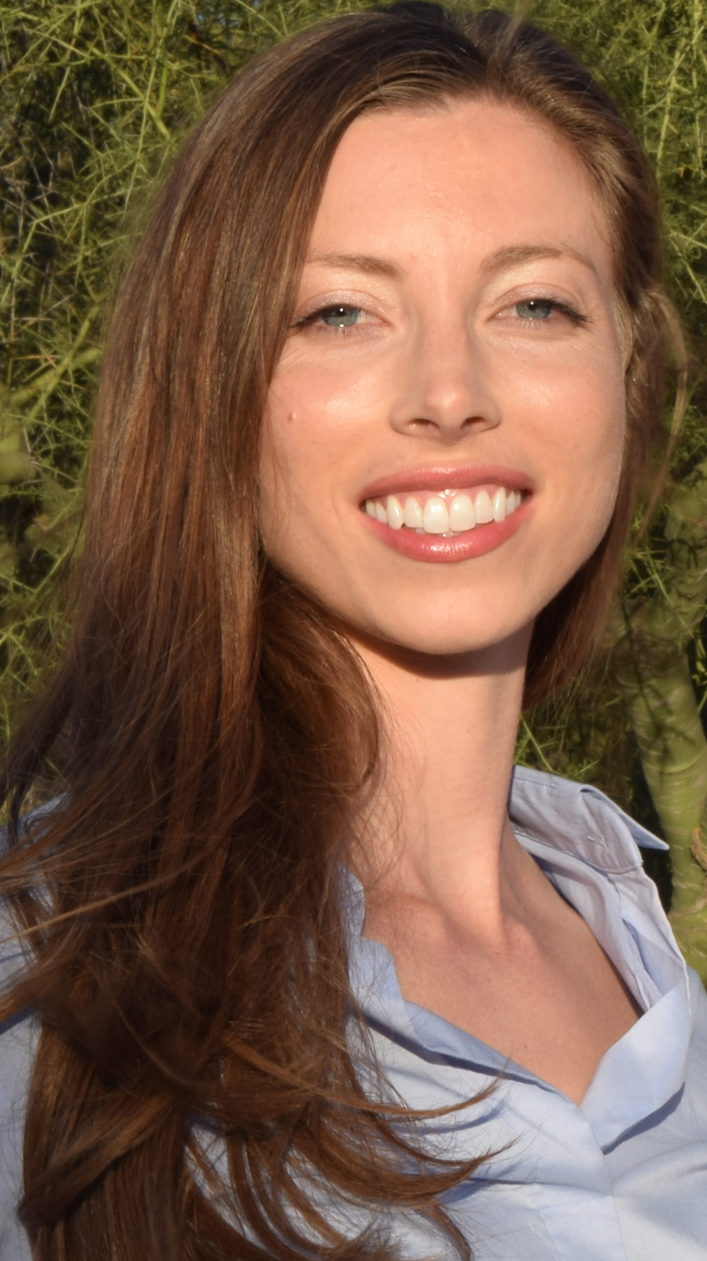portrait of katherine harrell dmd dentist in costa mesa