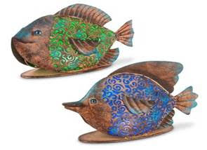 Rustic Copper Solar Fish by ShopDePalma
