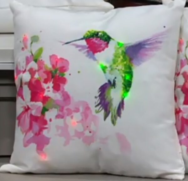 Hummingbird LED Spring Pillow by Ultimate Innovations