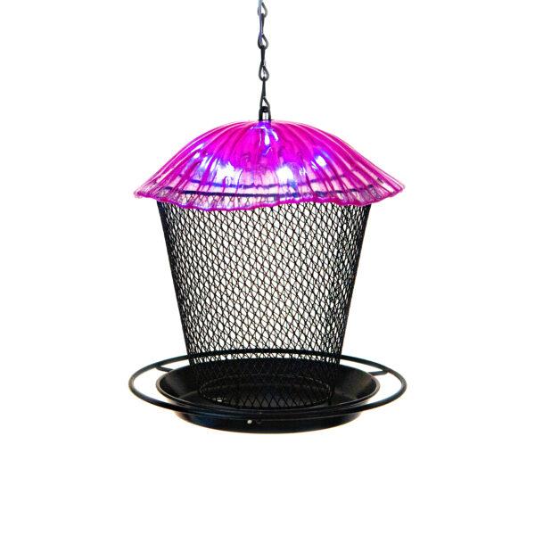 Ultimate Innovations Pink Mushroom Bird Feeder