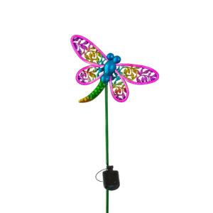 Shop DePalma Neon Pink Dragonfly Stake