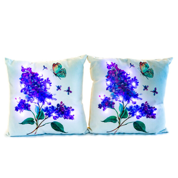 Ultimate Innovations Spring LED Pillows Butterflies