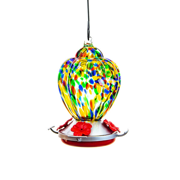 Ultimate Innovations Glass Hummingbird Feeder Balloon