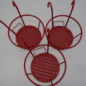 Set of 3 Rail Hanging Pot Holders by Ultimate Innovations