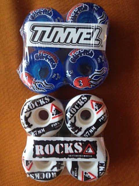 Tunnel Rock Wheels 7mm