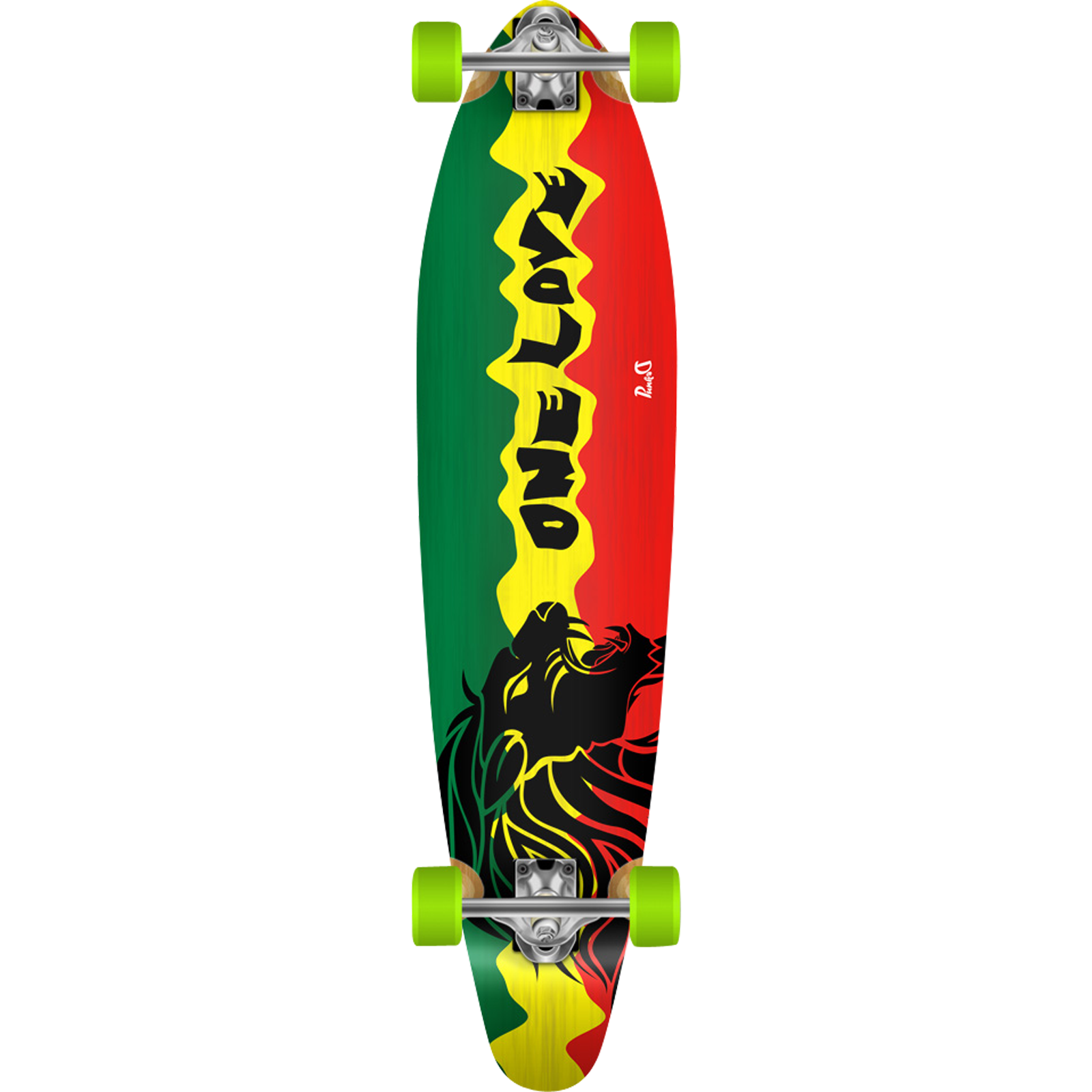 PUNKED RASTA II KICKTAIL LB COMPLETE-10×40 Ppp