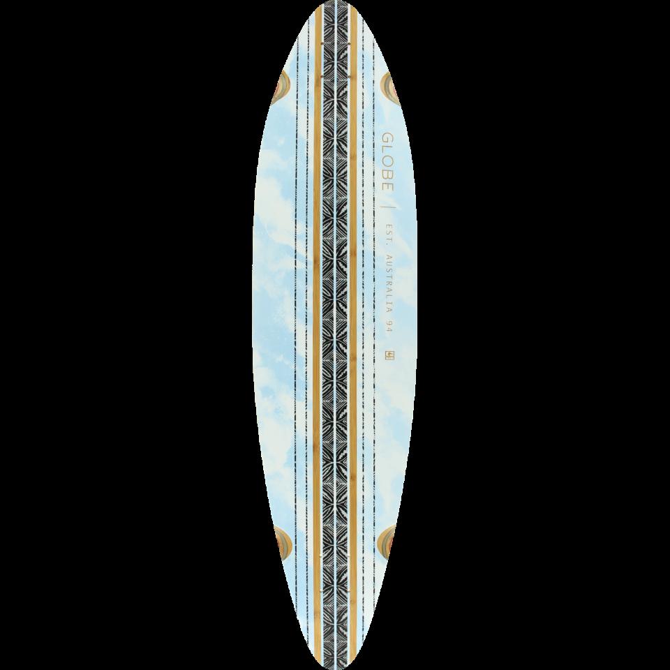 GLOBE PINNER DECK-9×41.25″ BAMBOO/SKY