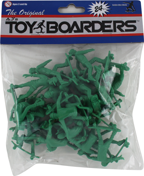 TOY BOARDERS SERIES I 24pc SKATE FIGURES