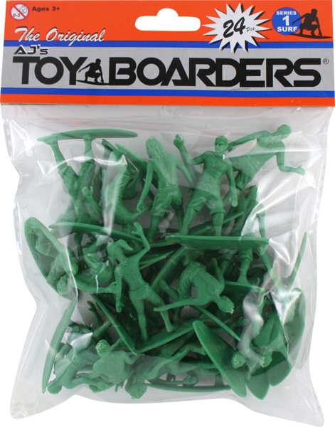 TOY BOARDERS SERIES I 24pc SURF* FIGURES