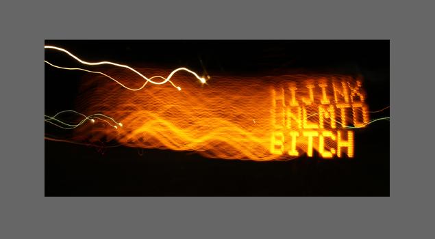 Hijinx Unlimited Bitch Sticker