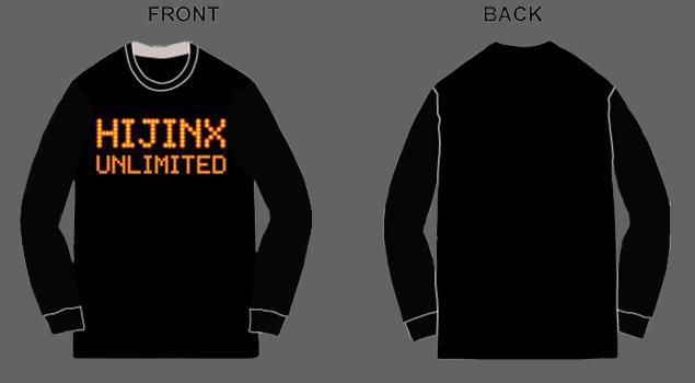 Hijinx Unlimited LED Long-Sleeve T-Shirt