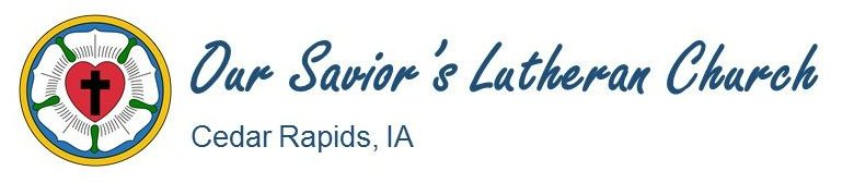 Logo for Our Saviors Lutheran Church