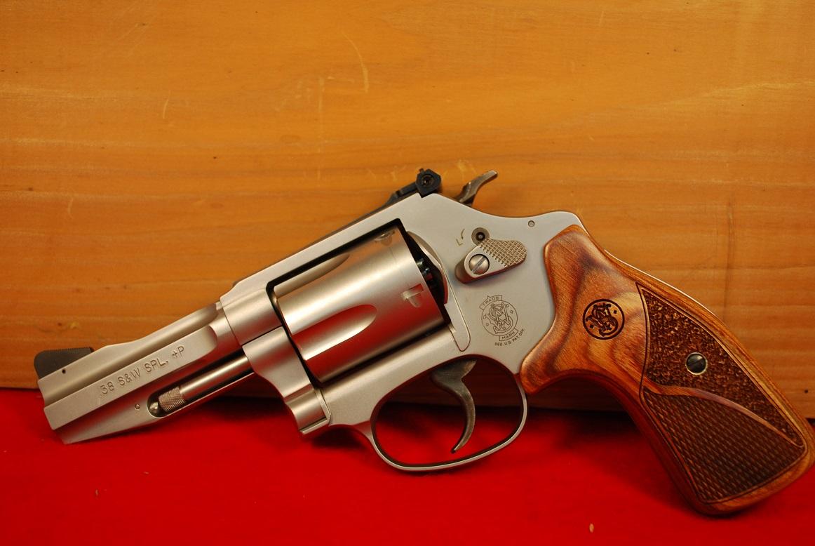 Smith & Wesson Model 60 38 Special +P Pro Series Revolver