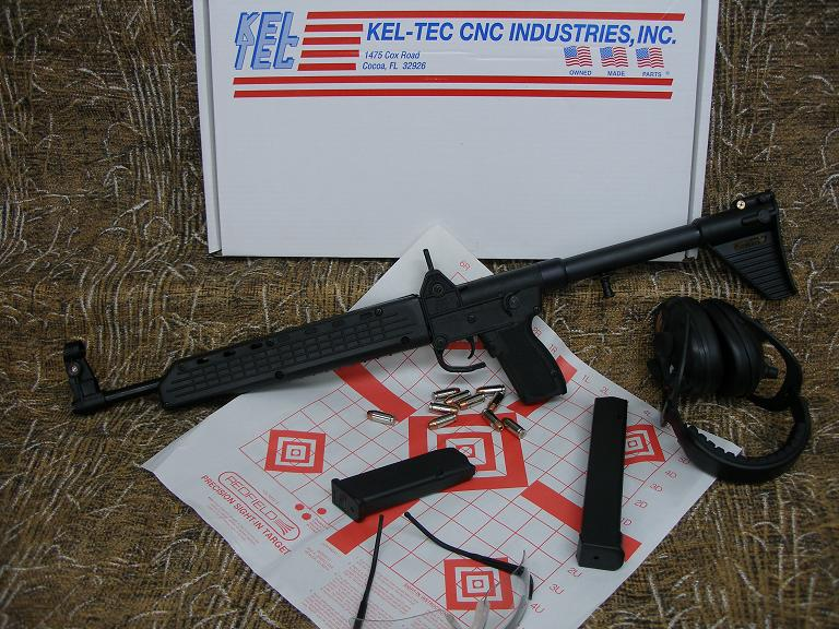 Kel-Tec Sub 2K in 9MM or 40 S&W – Neat Rifle