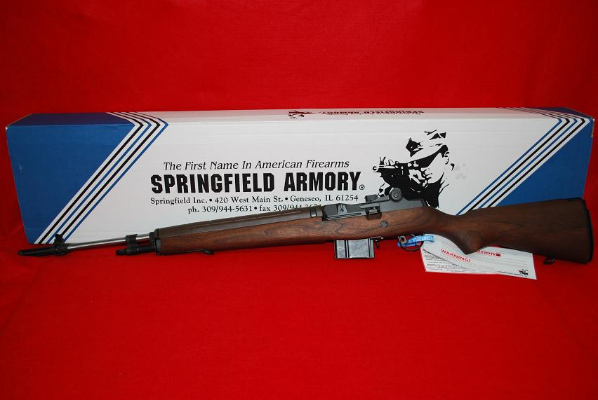 Springfield M1A Loaded 308 Stainless Walnut