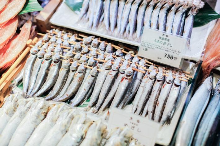 Isetan Shinjuku Fish Department in Tokyo, Japan