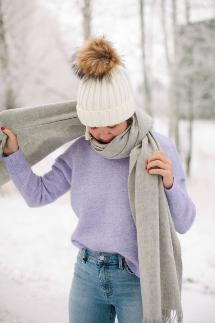 Jackson Hole Blogger in Scotch and Soda Winter Fashion