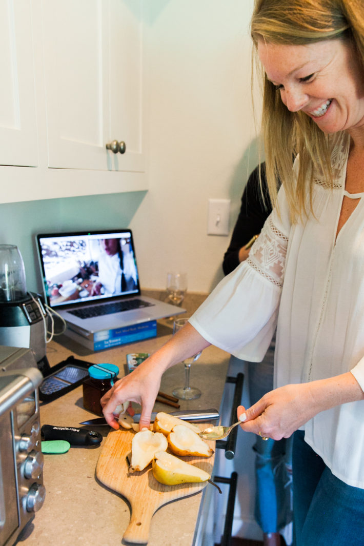 cook with a chef anywhere in the world with the chef and the dish