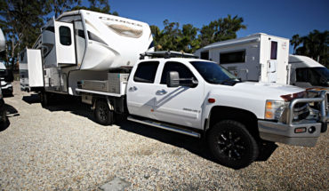 2009 Chevy Silverado and 2013 Crossroads 5th Wheel