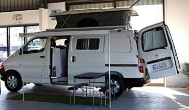2003 Toyota Hi Ace Pop Top Camper for sale