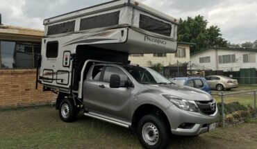 2017 Mazda BT50 and slide on