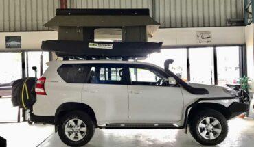 2014 Toyota Landcruiser Prado camper