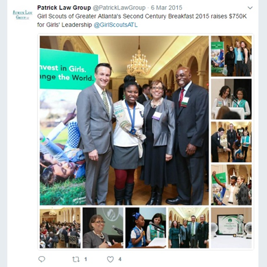 PLG Supporting the Atlanta Girl Scouts of America