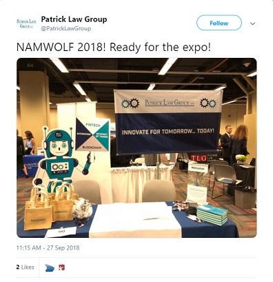 PLG Participates in the 2018 NAMWOLF Annual Meeting and Law Firm Expo