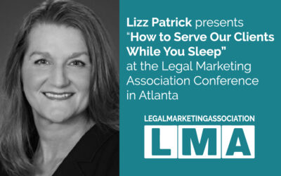 "Patrick Law Group Presents ""How to Serve Our Clients While You Sleep"" at the Legal Marketing Association Conference in Atlanta"