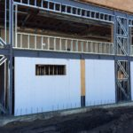 Polycore by S I Construction systems commercial infill wall hybrid with standard steel studs