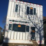 Energy Efficient Edmonton Infill project using full home Polycore by S I Construction systems R28 Walls