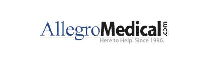 Allegro Medical.com logo linking to https://dbstn1.com/durable-medical-equipment/