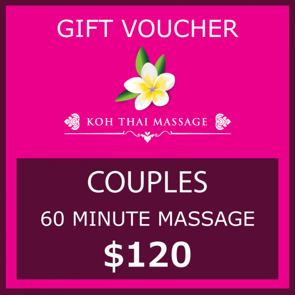 Gift voucher couples 60 minutes