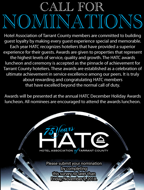 HATC Annual Award Nominations