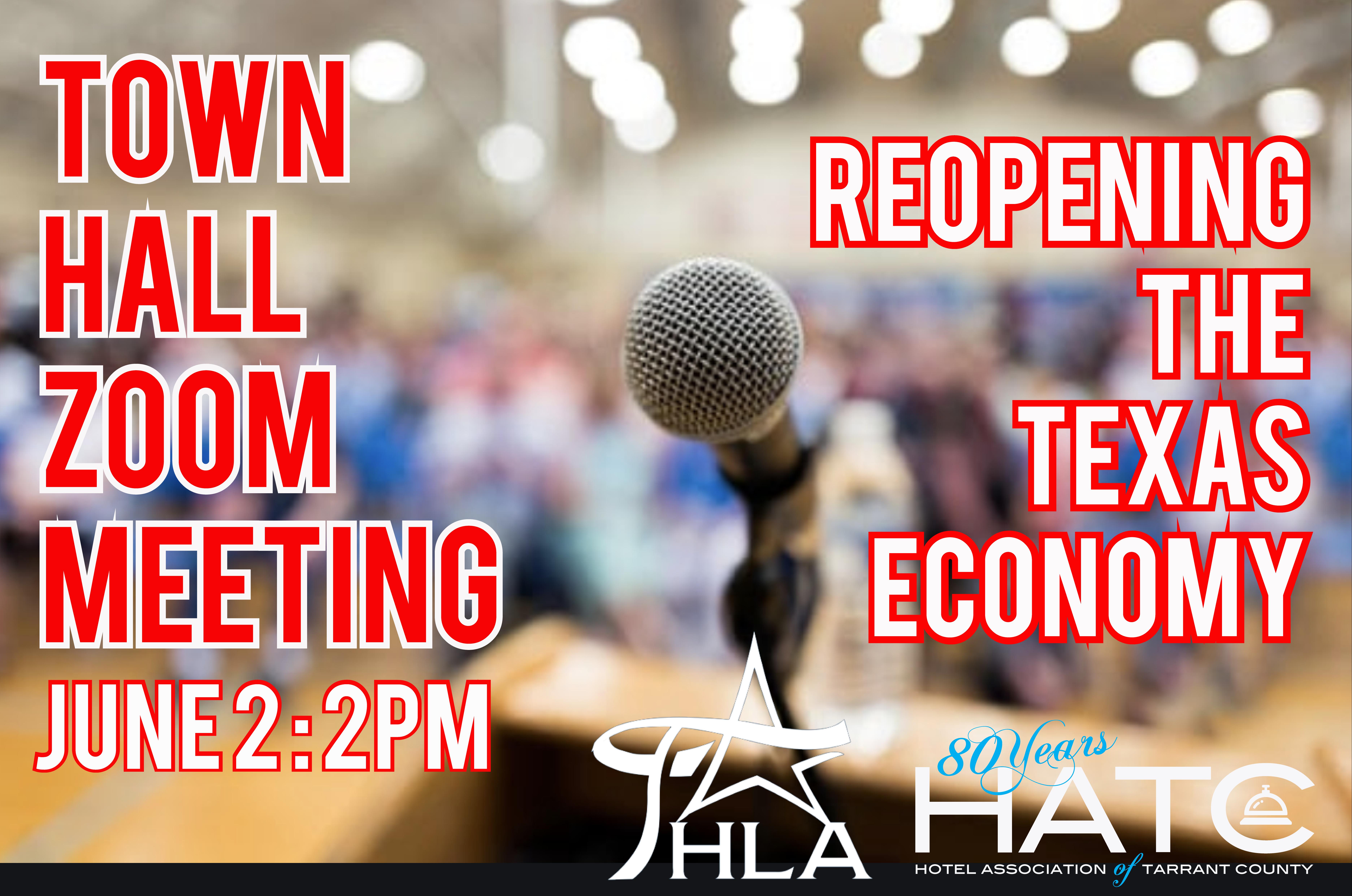 June Webinar ReOpening the Texas Economy