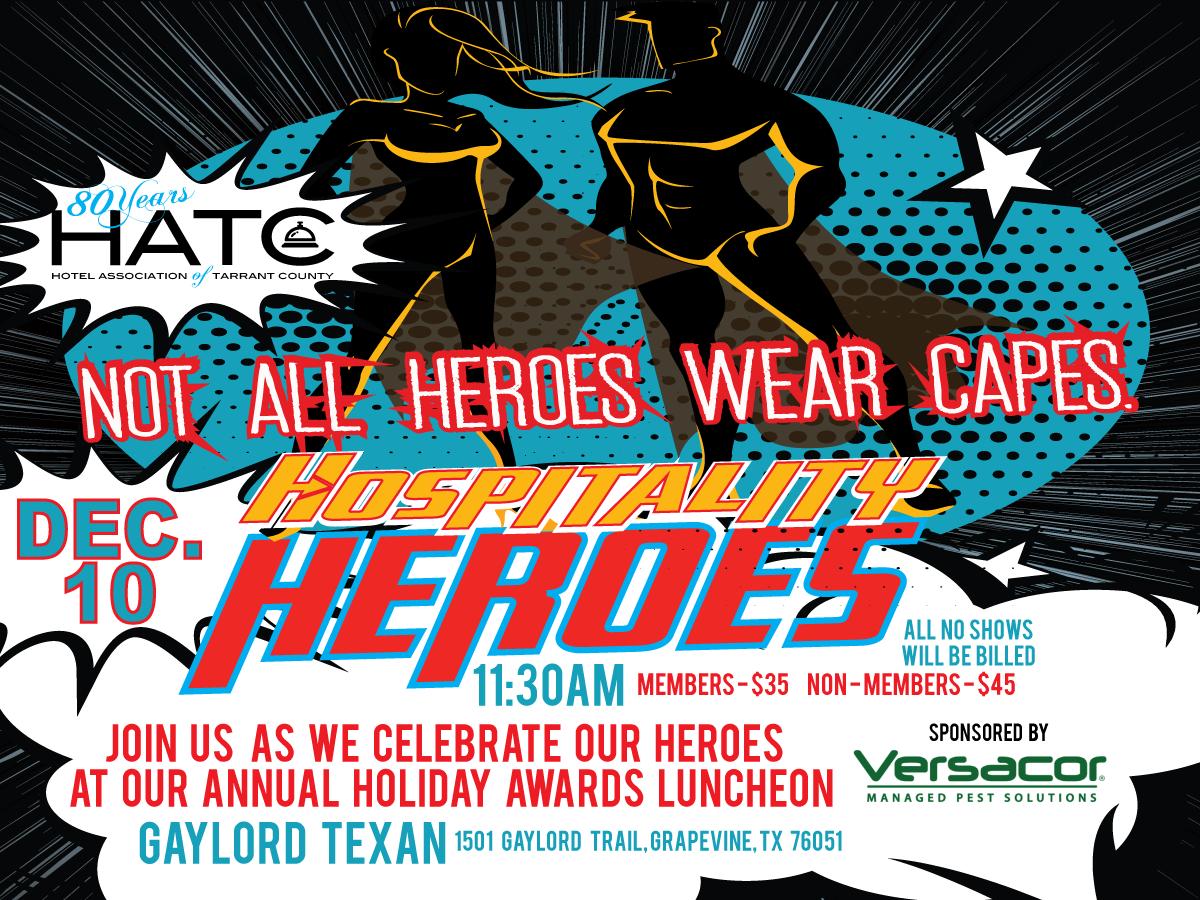 2020 Awards Luncheon Hospitality Superhero