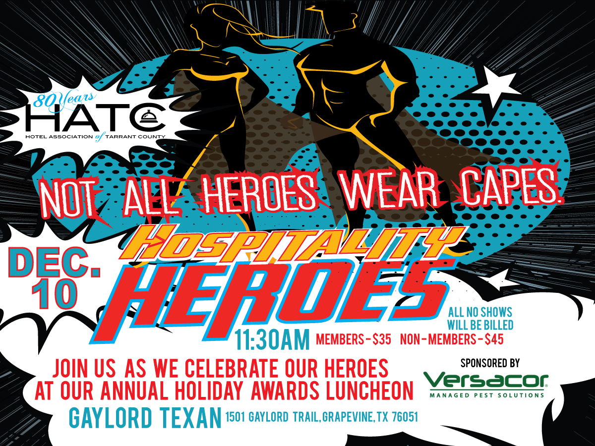 2020 Awards Luncheon Hospitality Superhero