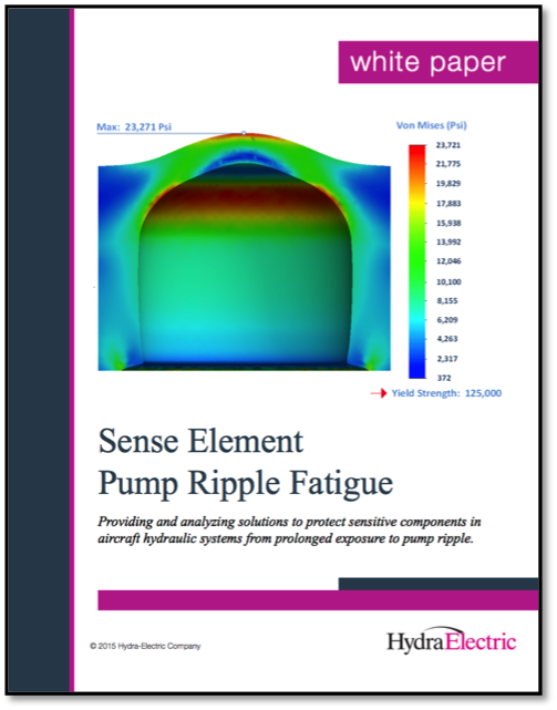New Aerospace White Paper: Sense Element Pump Ripple Fatigue