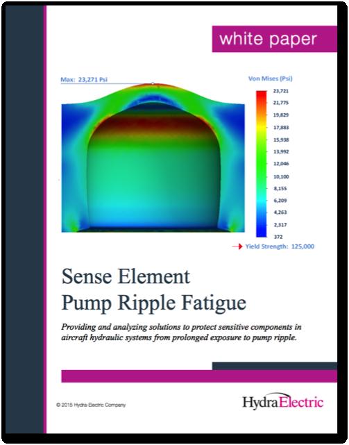 New Aerospace White Paper: Sense Element Pump Ripple Fatigue