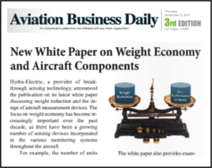 Aviation Business Daily Introduces NBAA to New Hydra-Electric White Paper