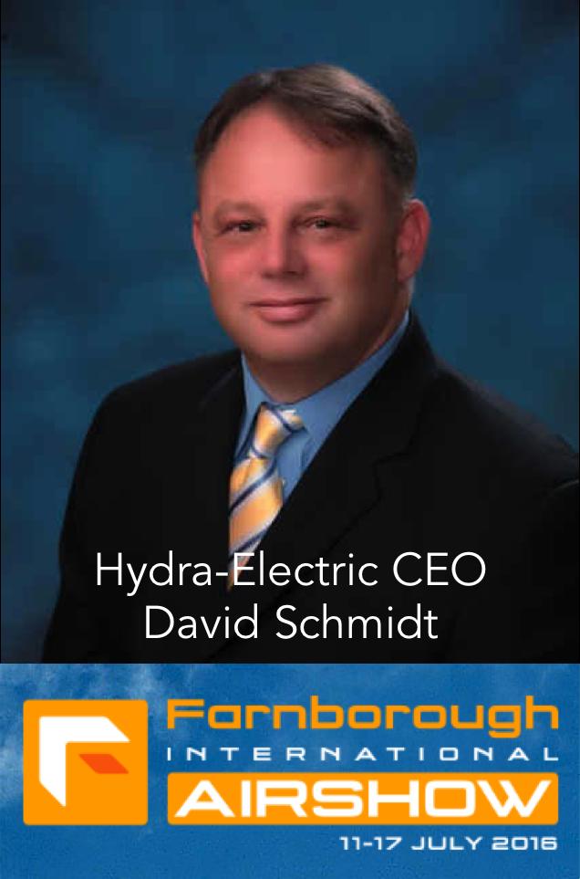 Meet Hydra-Electric's CEO at Farnsborough