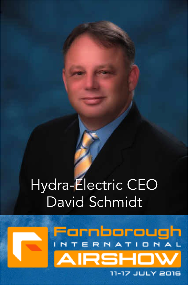 Meet Hydra-Electric's CEO at Farnsborough