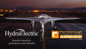 Hydra-Electric Announces New Electronic Temperature Switch at Farnborough International Airshow Addressing Common Failure Issues with Mechanical Switches