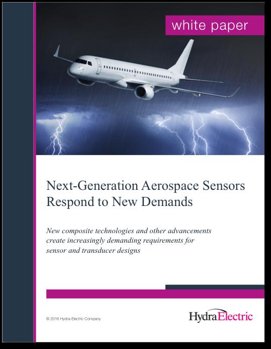 Next Generation Aerospace Sensors Respond to New Demands
