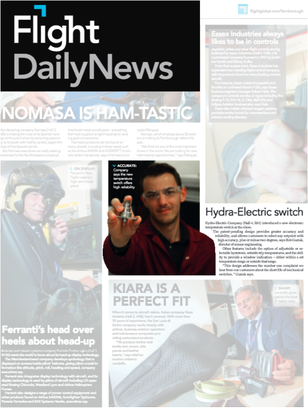 Hydra-Electric Switch Product Featured in News