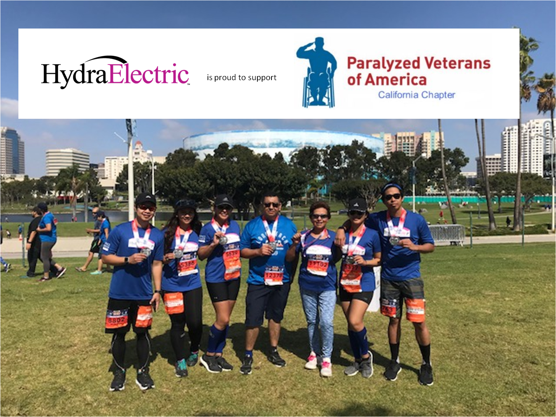 Team Hydra logs >160 miles to help Paralyzed Veterans Association
