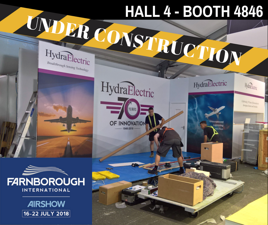 See our #FIA2018 Booth Under Construction